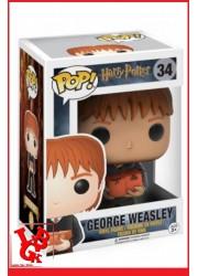 HARRY POTTER : Figurine POP! 34 - GEORGES WEASLEY par FUNKO libigeek 889698344241
