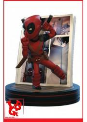DEADPOOL 4D  : Figurine Q-FIG Marvel par Quantum Mechanix libigeek 812095024287