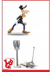 """GASTON LAGAFFE : Statue Les Inventions 3 """"Le Robot scieur de parcmetre"""" par Pixi-plastoy libigeek 3521320065854"""