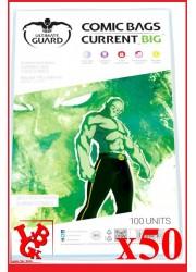 Protection Comics : Lot de 50 protections pour comics format CURRENT BIG Size libigeek 4260250075777