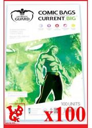 Protection Comics : Lot de 100 protections pour comics format CURRENT BIG Size libigeek 4260250075777