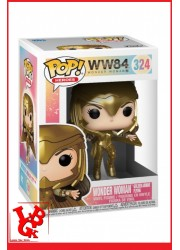Wonder Woman 1984 : Figurine POP! 324 - WW Golden Armor Flying par FUNKO libigeek 889698466608
