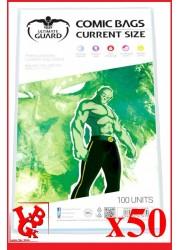 Protection Comics : Lot de 50 protections pour comics format CURRENT Size libigeek 4260250071670