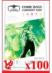 Protection Comics : Lot de 100 protections pour comics format CURRENT Size libigeek 4260250071670