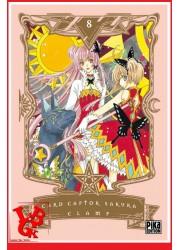 CARD CAPTOR SAKURA 8 (Nov 2018) Vol. 08 Shojo - Clamp par Pika libigeek 9782811637767