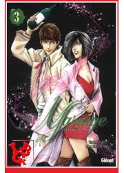 LES GOUTTES DE DIEU - Mariage 3 (Janv 2017)  Vol. 03 - Seinen par Glénat Manga libigeek 9782344019825
