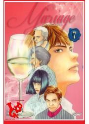 LES GOUTTES DE DIEU - Mariage 7 (Fev 2018)  Vol. 07 - Seinen par Glénat Manga libigeek 9782344027660
