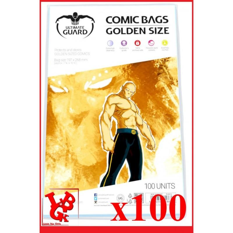 Protection Comics : Lot de 100 protections pour comics format GOLDEN Size libigeek 4260250071663