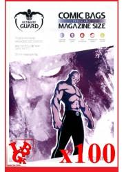 Protection Comics : Lot de 100 protections pour comics format MAGAZINE Size REFERMABLE libigeek 4260250072608