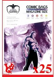 Protection Comics : Lot de 25 protections pour comics format MAGAZINE Size REFERMABLE libigeek 4260250072608