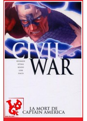CIVIL WAR 3 Marvel Deluxe (Reed 2016) Vol. 03 / La mort de Cap America par Panini Comics libigeek 9782809412826