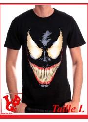 """VENOM SMILE """"L"""" - T-Shirt Marvel taille Large par Cotton Division Tshirt libigeek 3700334648509"""