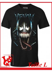 "DARK VENOM ""L"" - T-Shirt Marvel taille Large par Cotton Division Tshirt libigeek 3664794047244"