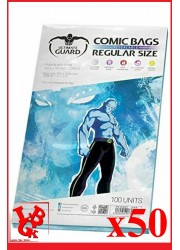 Protection Comics : Lot de 50 protections pour comics format REGULAR Size REFERMABLE libigeek 4260250073834