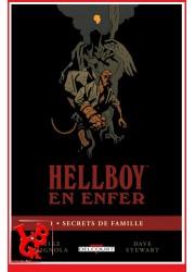 HELLBOY en enfer 1 (Avr 2014) Vol. 01 / Secrets de famille par Delcourt Comics libigeek 9782756048161