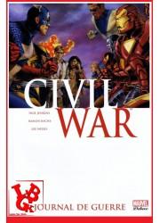 CIVIL WAR 4 Marvel Deluxe (Reed 2018) Vol. 04 / Journal de guerre par Panini Comics libigeek 9782809426670