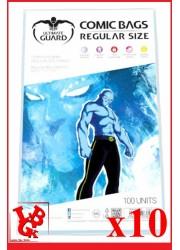 Protection Comics : Lot de 10 protections pour comics format REGULAR Size libigeek 4260250073827