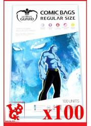 Protection Comics : Lot de 100 protections pour comics format REGULAR Size libigeek 4260250073827