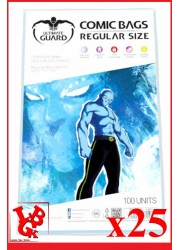 Protection Comics : Lot de 25 protections pour comics format REGULAR Size libigeek 4260250073827