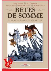 BETES DE SOMME 2 (Juil 2020)  Vol. 02 / Surveillance de quartier Hellboy par Delcourt Comics libigeek 9782413027577