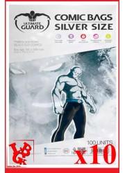 Protection Comics : Lot de 10 protections pour comics format SILVER Size  libigeek 4260250071656