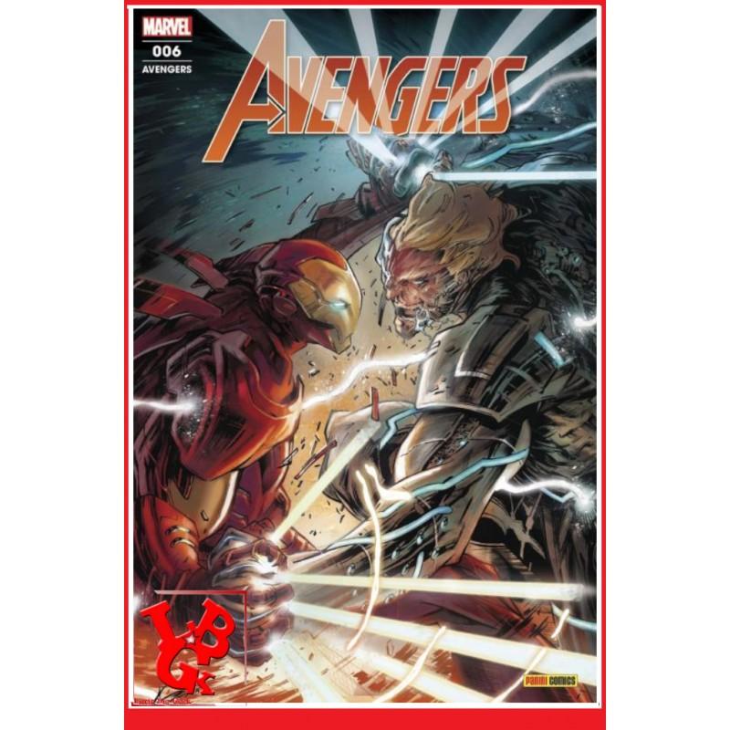 AVENGERS 6 - Mensuel (Aout 2020) Vol. 06 par Panini Comics libigeek 9782809487602