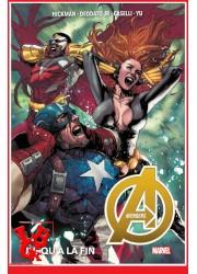 AVENGERS 2 Marvel Deluxe (Juil 2020) Vol. 02 / Jusqu'à la fin par Panini Comics libigeek 9782809487060