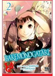 BAKEMONOGATARI 2 (Juil 2019) Vol. 02  Oh ! Great - Shonen par Pika libigeek 9782811649739
