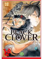 BLACK CLOVER 1 (Sept 2016) Vol.01 par KAZE Manga libigeek 9782820325006