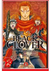 4 - BLACK CLOVER - Vol.04 par KAZE Manga libigeek 9782820327888