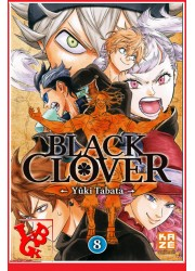 8 - BLACK CLOVER - Vol.08 par KAZE Manga libigeek 9782820329042