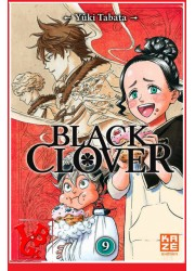9 - BLACK CLOVER - Vol.09 par KAZE Manga libigeek 9782820329271