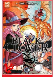 10 - BLACK CLOVER - Vol.10 par KAZE Manga libigeek 9782820331908