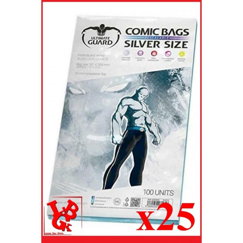 Protection Comics : Lot de 25 protections pour comics format SILVER Size REFERMABLE libigeek 4260250071618