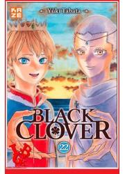 22 - BLACK CLOVER - Vol.22 par KAZE Manga libigeek 9782820337726
