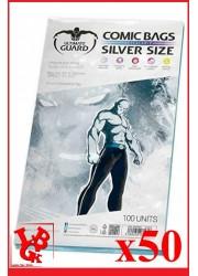 Protection Comics : Lot de 50 protections pour comics format SILVER Size REFERMABLE libigeek 4260250071618