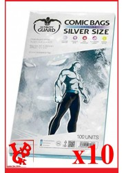 Protection Comics : Lot de 10 protections pour comics format SILVER Size REFERMABLE libigeek 4260250071618