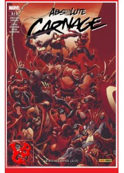 ABSOLUTE CARNAGE 3 - Mensuel (Sept 2020) Vol. 03/03 par Panini - Softcover Comics libigeek 9782809489194
