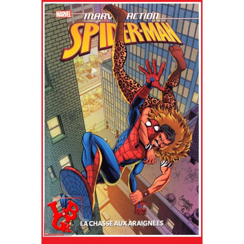 SPIDER-MAN Marvel Action / Kids - Chasse aux araignées par Panini Comics libigeek 9782809488326