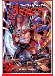 AVENGERS Marvel Action / Kids - Le Rubis portail par Panini Comics libigeek 9782809488319