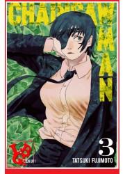 CHAINSAW MAN 3 (Juil 2020) Vol.03 - Shonen par KAZE Manga libigeek 9782820338150