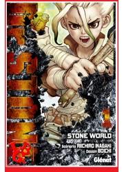 Dr STONE 1 (Avr 2018) Vol. 01 Shonen par Glenat Manga libigeek 9782344028032