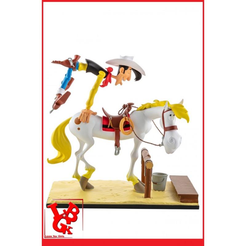 LUCKY LUKE et JOLLY JUMPER Statue 1/12 par LMZ Collectibles libigeek 3770017509038