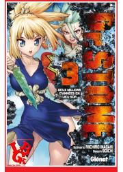 Dr STONE 3 (Oct 2018) Vol. 03 Shonen par Glenat Manga libigeek 9782344031711