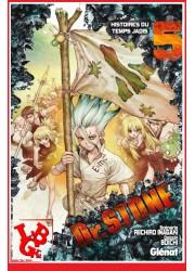 Dr STONE 5 (Mar 2019) Vol. 05 Shonen par Glenat Manga libigeek 9782344034354