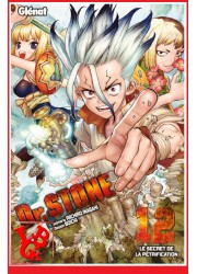 Dr STONE 12 (Sept 2020) Vol. 12 Shonen par Glenat Manga libigeek 9782344041840