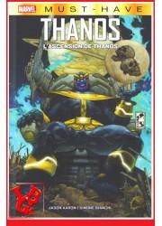 THANOS / L'ascension - Must Have Marvel par Panini Comics libigeek 9782809488197