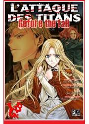 L'ATTAQUE DES TITANS / Before the Fall - 8 (Aout 2016) - Seinen - Vol.08 par Pika libigeek 9782811632342