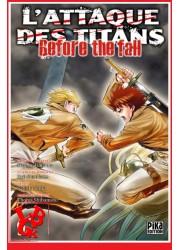 L'ATTAQUE DES TITANS / Before the Fall - 9 (Dec 2016) - Seinen - Vol.09 par Pika libigeek 9782811632922
