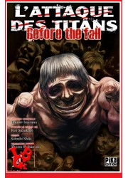 L'ATTAQUE DES TITANS / Before the Fall - 14 (Aout 2018) - Seinen - Vol. 14  par Pika libigeek 9782811644857